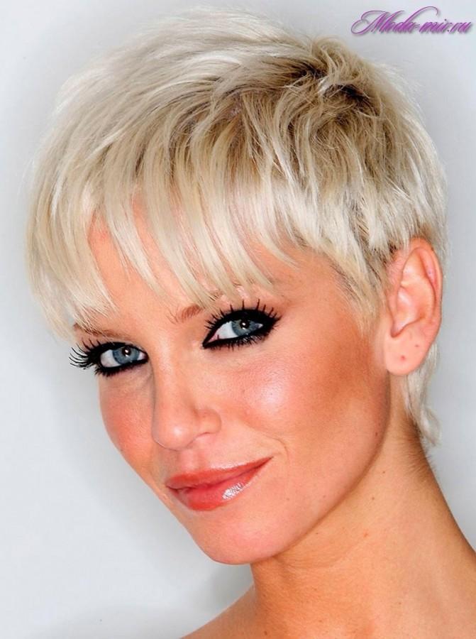 окрашивание волос с челкой фото 2016