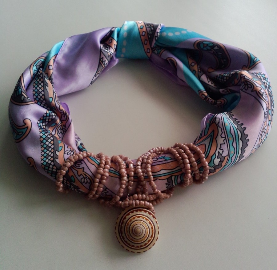 украшение платок фото