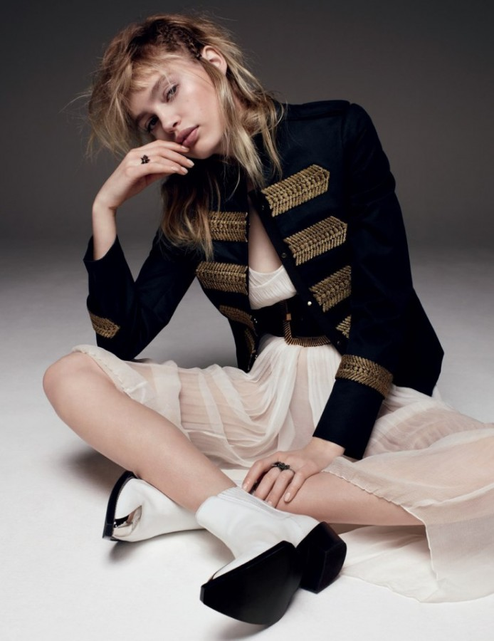 Staz Lindes for Vogue Russia by Jason Kim 3
