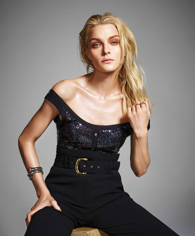 Jessica Stam for Harper's Bazaar Mexico by Matallana 4