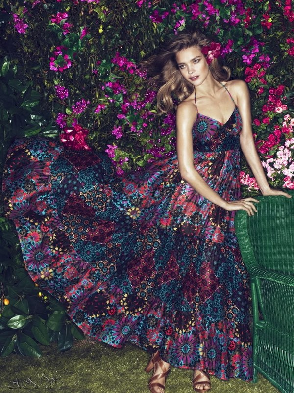 Natalia Vodianova for Etam Campaign. 3