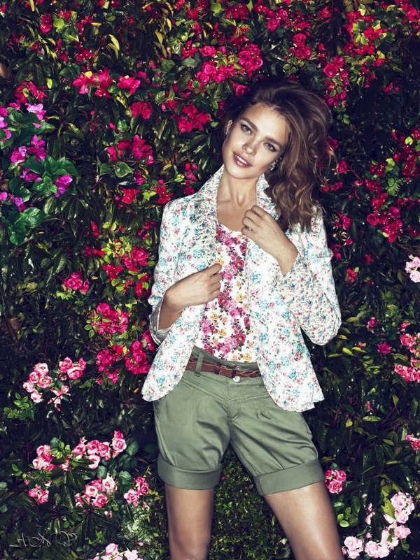 Natalia Vodianova for Etam Campaign. 1