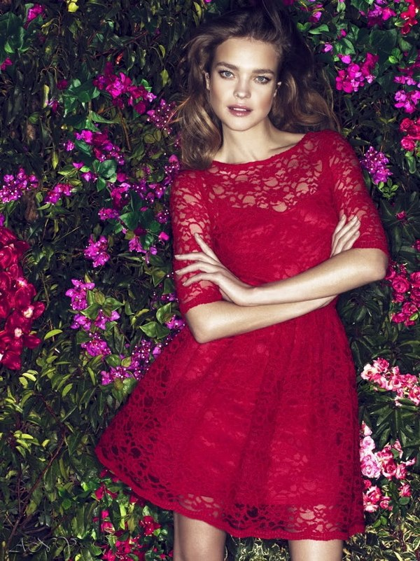 Natalia Vodianova for Etam Campaign. 2