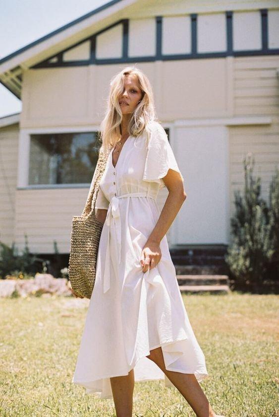 8e706ae3c57b440 Белые летние платья. — Модно / Nemodno