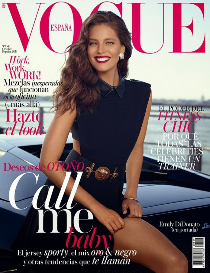 Emily DiDonato for Vogue Spain by Miguel Reveriego 1