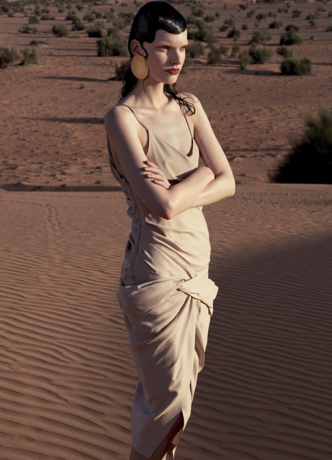 Lisa Verberght for Vogue Arabia by DomenVan de Velde 3