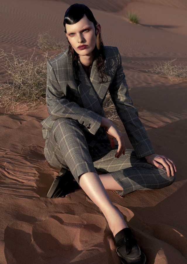 Lisa Verberght for Vogue Arabia by DomenVan de Velde 2