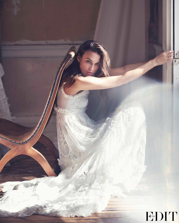 Keira Knightley for The Edit by David Bellemere 2