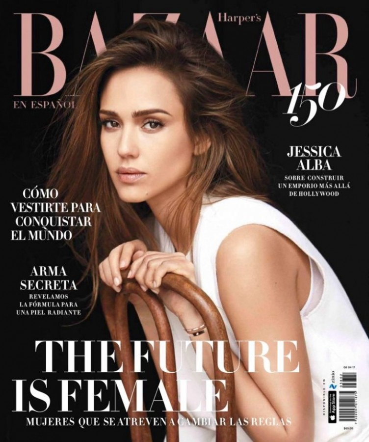 Jessica Alba for Harper's Bazaar Mexico by Adam Franzino 1