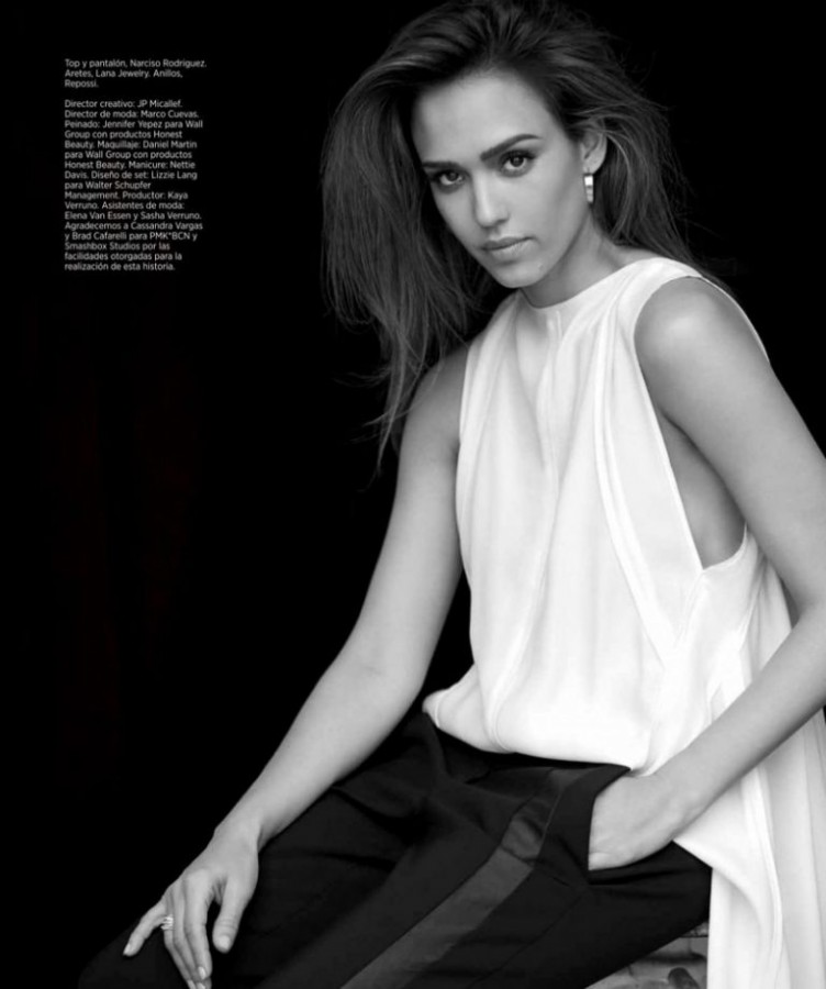 Jessica Alba for Harper's Bazaar Mexico by Adam Franzino 5