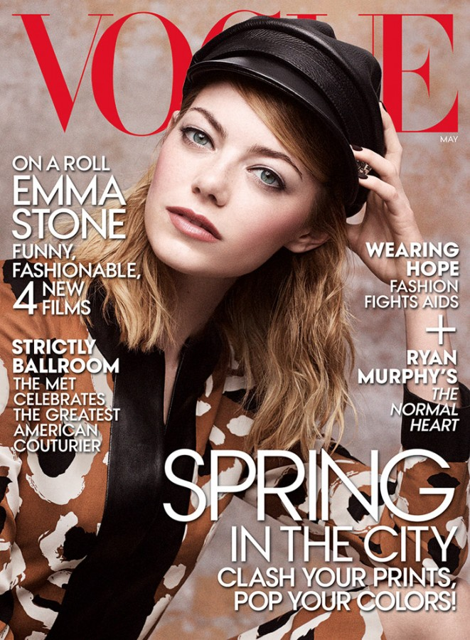 Emma Stone for Vogue US by Craig McDean 1