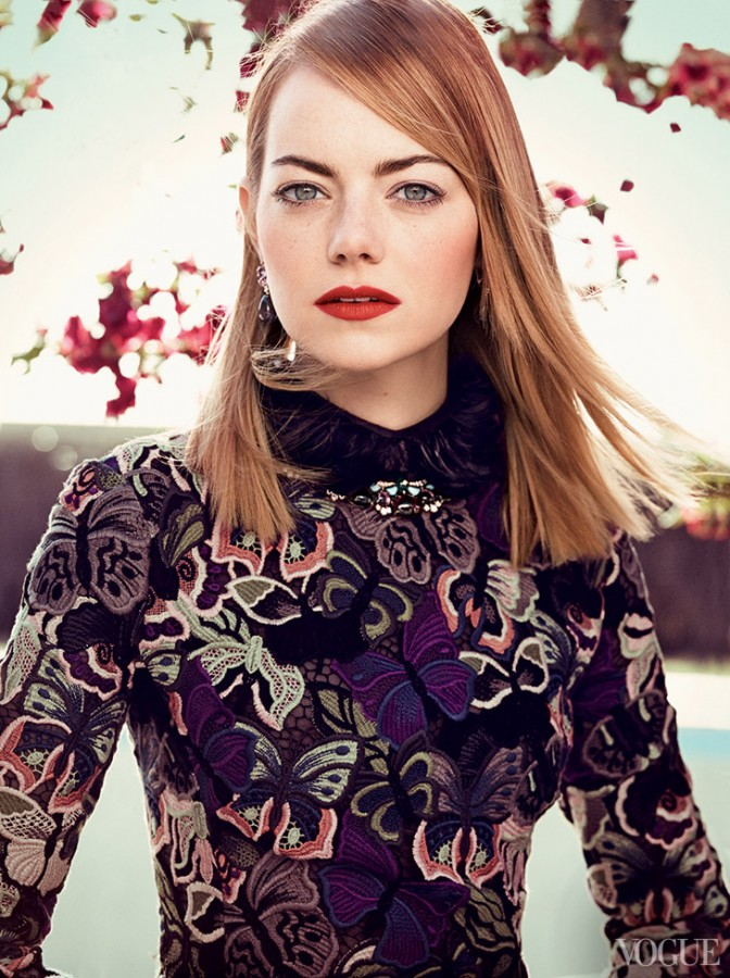 Emma Stone for Vogue US by Craig McDean 3