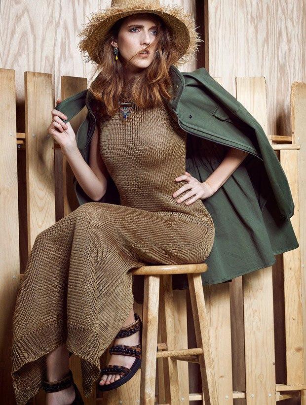 Iris Egbers for ELLE Bulgaria by Damien Kim & DaVian Lain 6