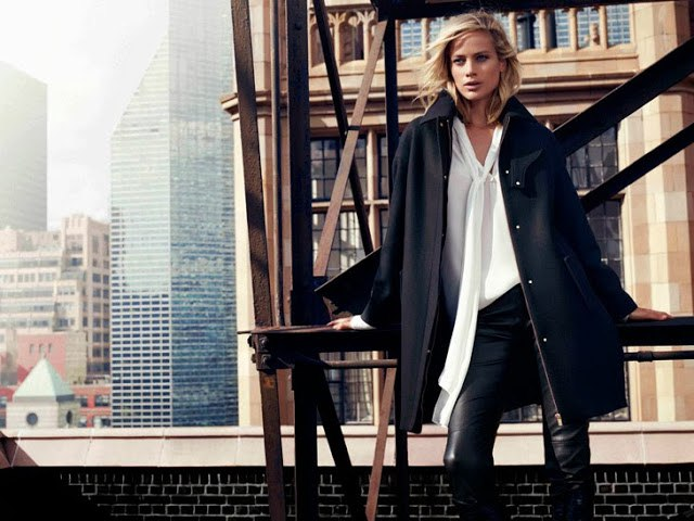 Carolyn Murphy & David Gandy for Massimo Dutti Campaign 0