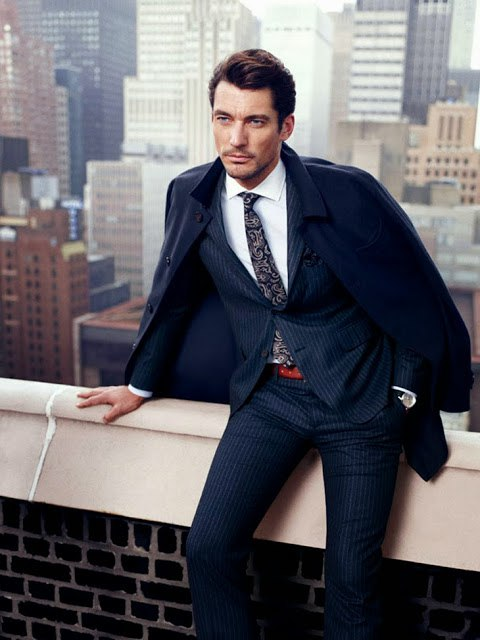 Carolyn Murphy & David Gandy for Massimo Dutti Campaign 3