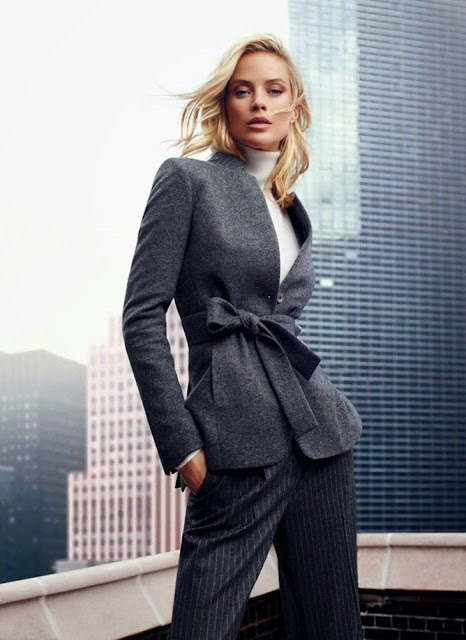 Carolyn Murphy & David Gandy for Massimo Dutti Campaign 2