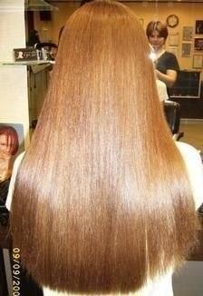 Маска с эффектом ламинирования волос!