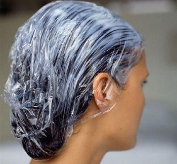 Маски для поврежденных волос феном