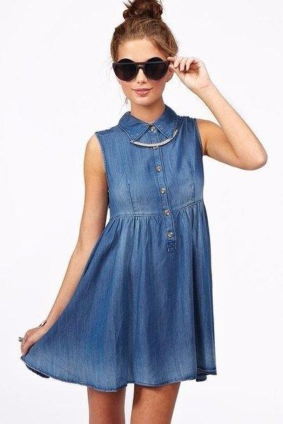 f353ad0faedc5d8 Удобные и практичные джинсовые платья и платья-рубашки. — Модно ...