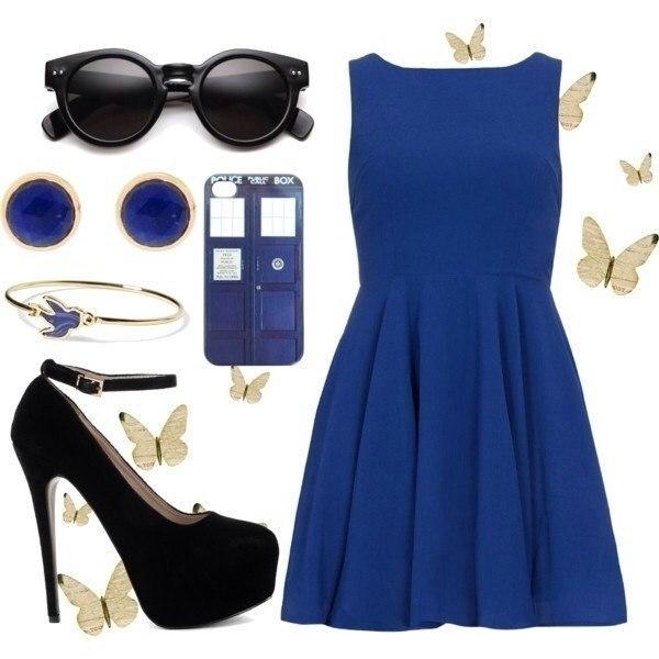 Синий цвет нравится