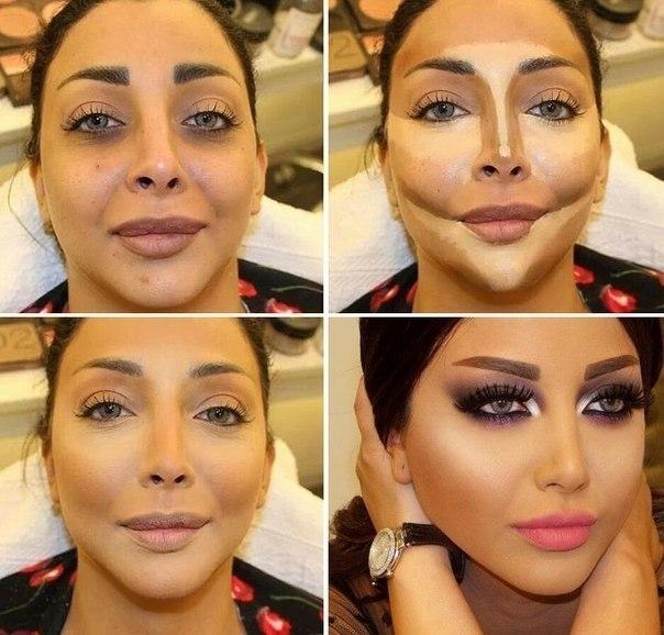 Как сделать красивы макияж фото