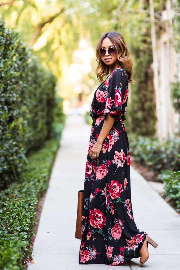 Картинки длинные модные платье