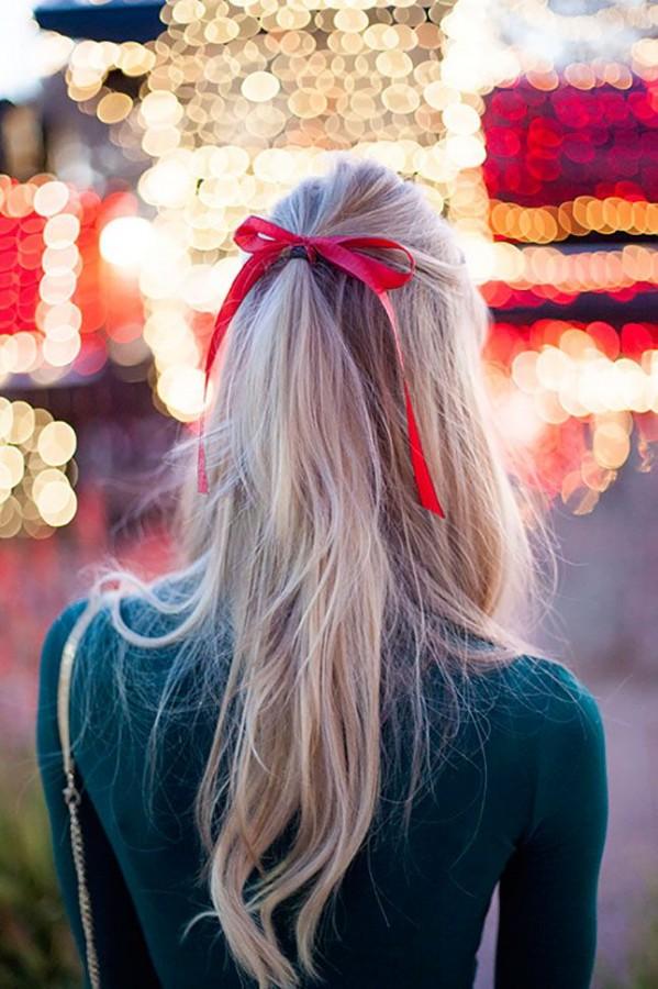 Для, новогодние картинки девушек со спины