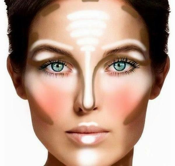 Как изменить форму носа с помощью макияжа | 569x600