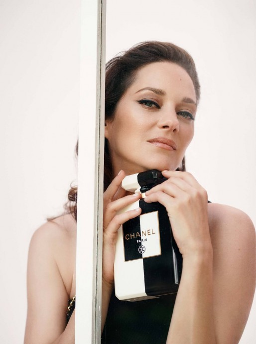 Marion Cotillard for Harper's Bazaar UK by Serge Leblon