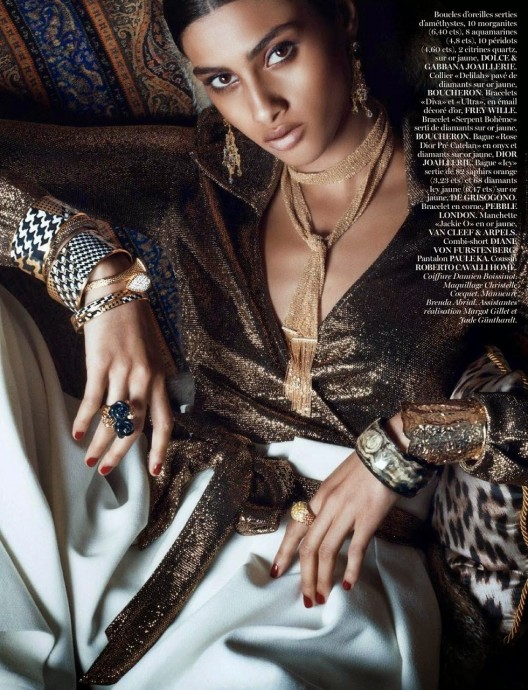 Imaan Hammam for Vogue Paris by Lachlan Bailey