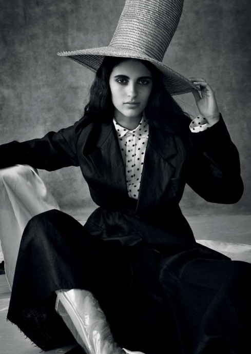 Raquel Pascual Vila for Vogue Arabia by Daniel Archer
