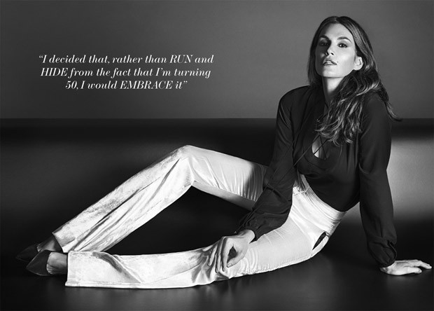 Cindy Crawford for The Edit Magazine by Chad Pitman