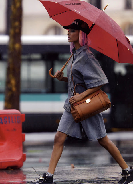 Jourdan Dunn for Antidote Mag by Hans Feurer