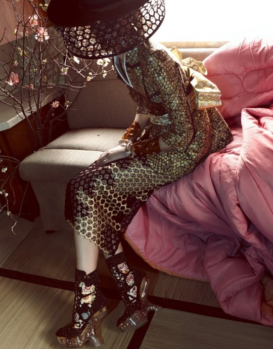 Du Juan for Vogue China by Jimmy Ming Shum