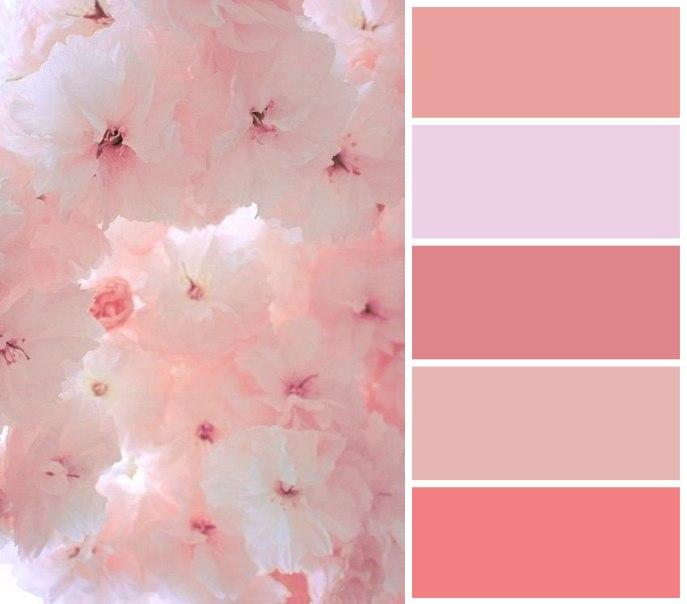 Цветовые сочетания для вдохновения 1