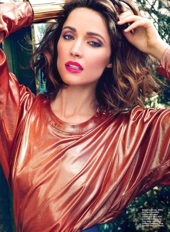 Rose Byrne by Max Abadian