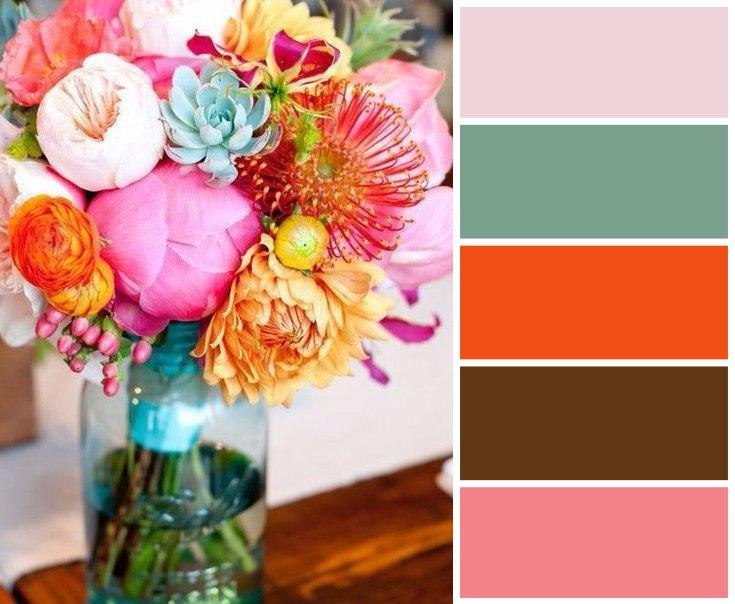 Цветовые сочетания для вдохновения 2