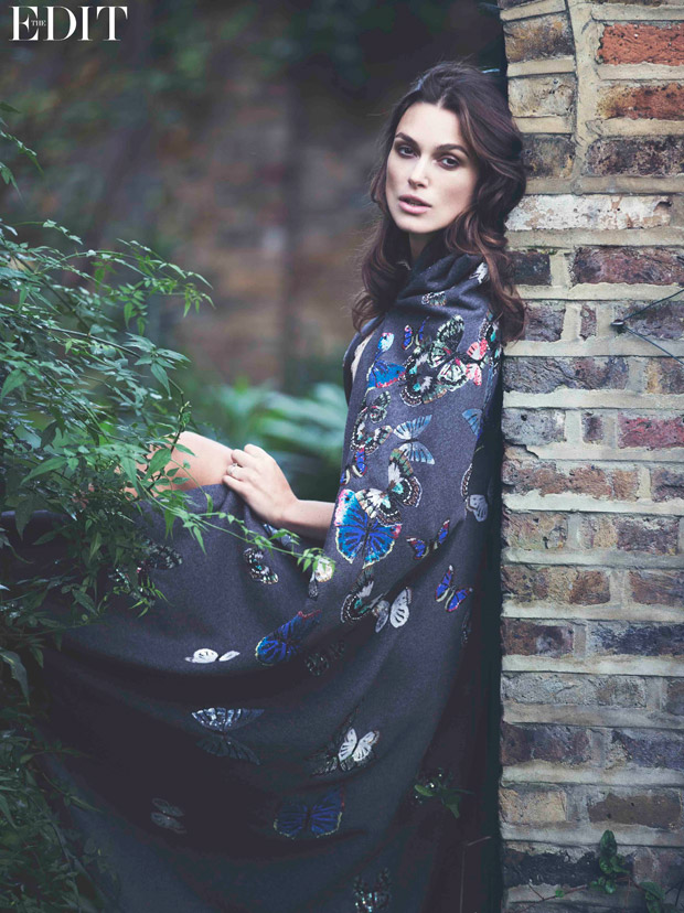 Keira Knightley for The Edit by David Bellemere