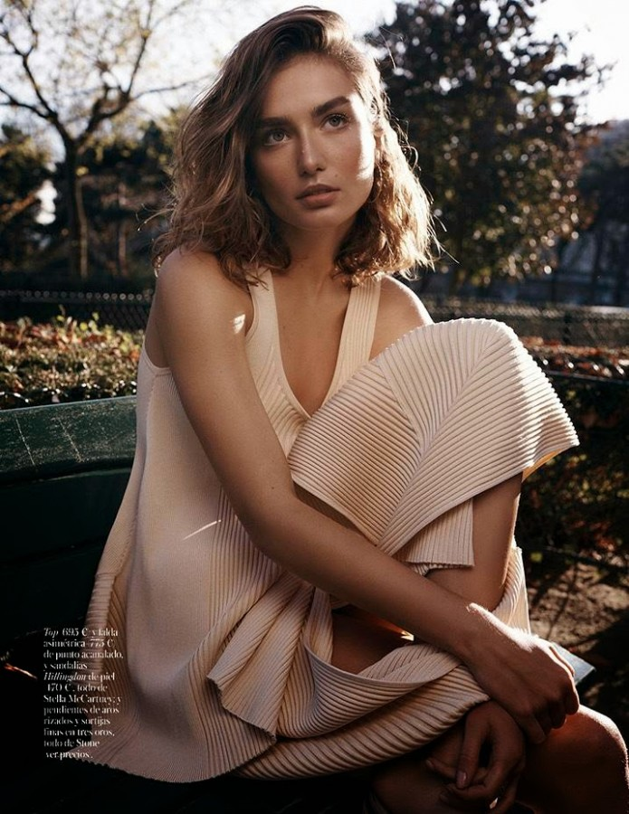 Andreea Diaconu for Vogue Spain by Benny Horne