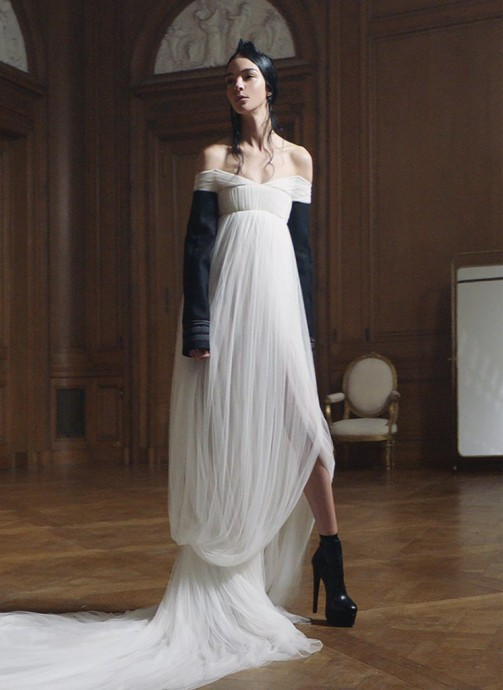 Mariacarla Boscono for Vera Wang Collection