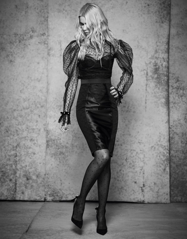 Claudia Schiffer for The Edit from Net-a-Porter by Nico Bustos