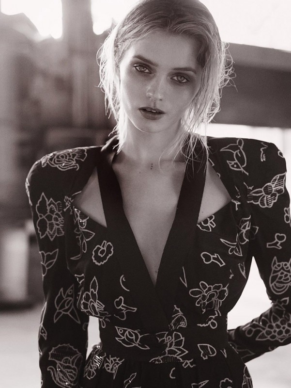 Abbey Lee Kershaw for VOGUE Australia by Will Davidson