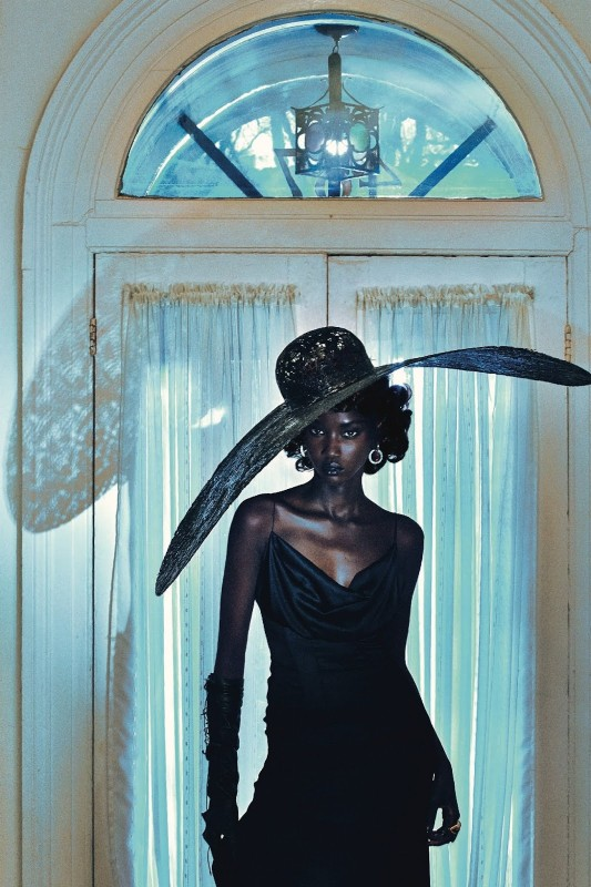 Anok Yai for Vogue Italia by Steven Klein