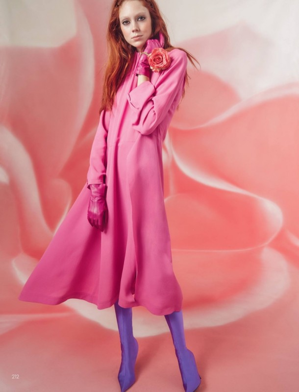 Natalie Westling for Vogue China by Roe Ethridge