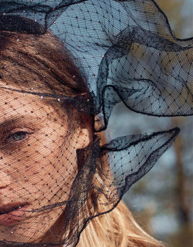Abbey Lee Kershaw for Vogue China by Emma Tempest
