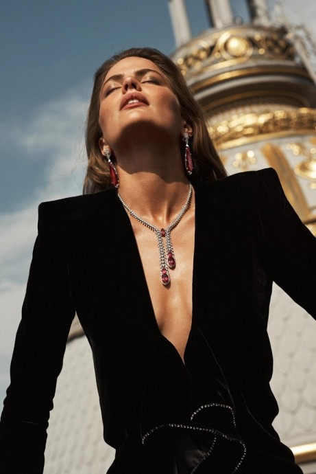 Cameron Russell for Vogue Paris by Lachlan Bailey