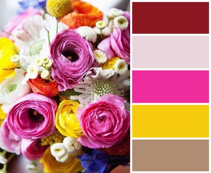 Цветовые сочетания для вдохновения 3