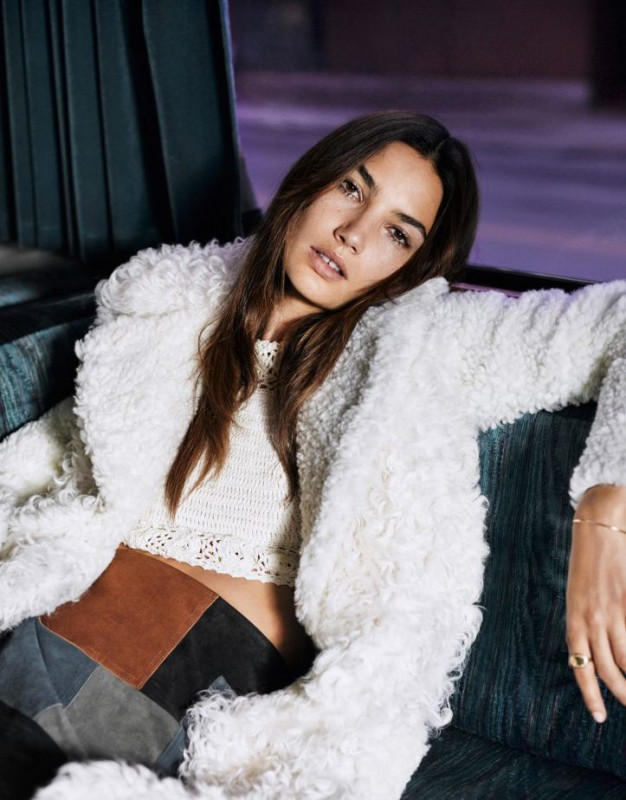 Lily Aldridge for The Edit Magazine by Mark Kean