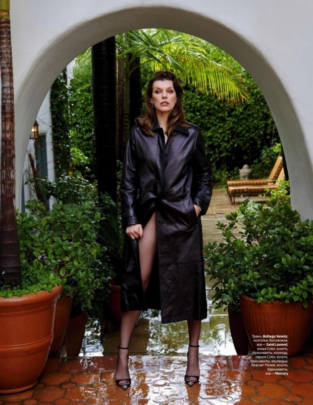 Milla Jovovich for InStyle Russia by Yu Tsai