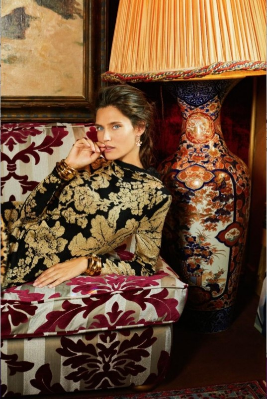 Bianca Balti for L'Officiel by Luca and Alessandro Morelli